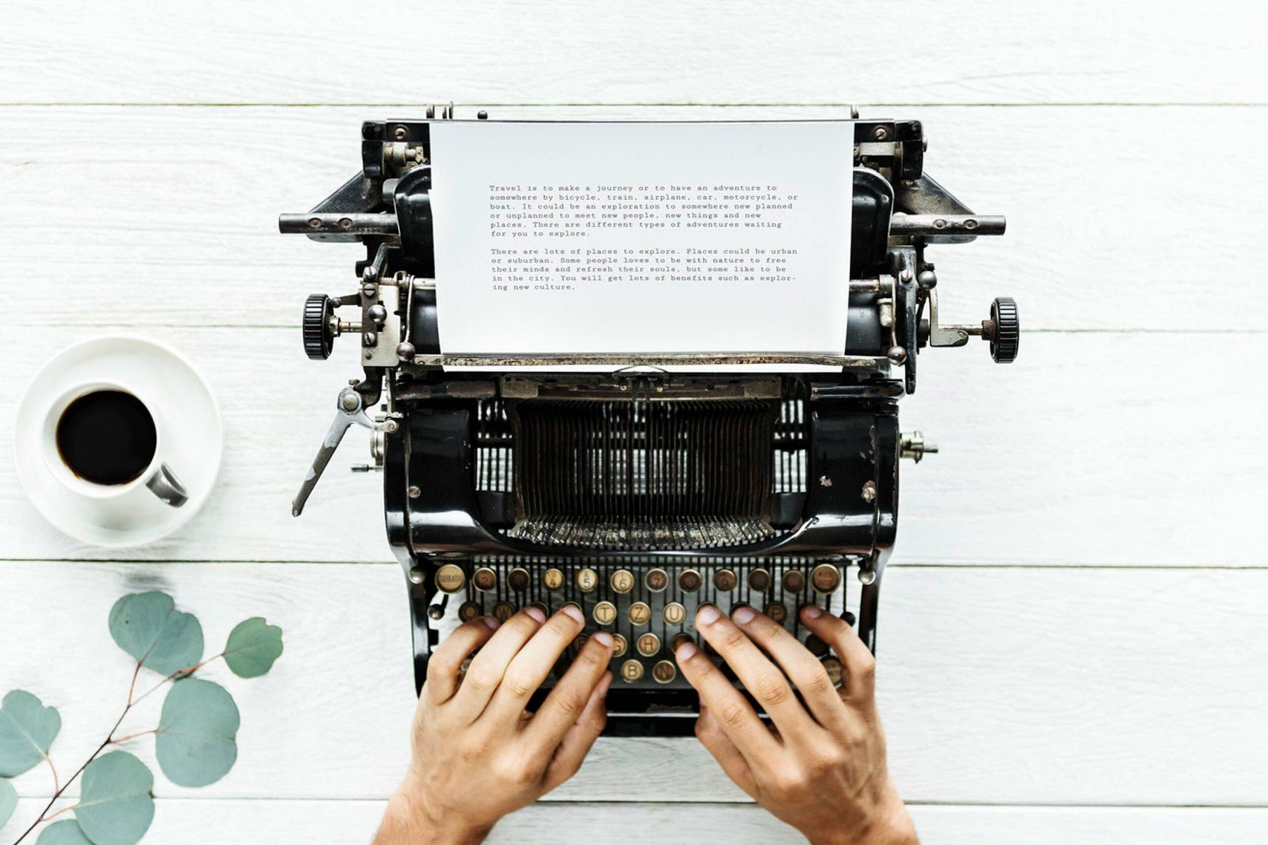 Wie schreibe ich einen guten Blogbeitrag