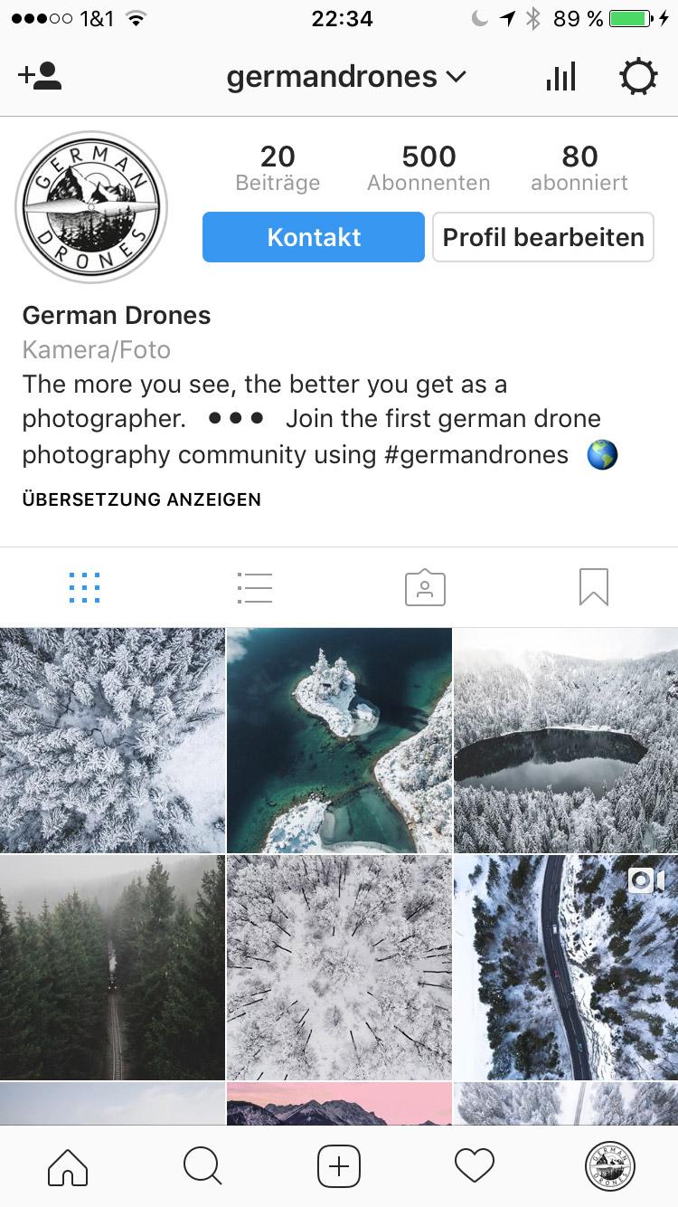 German Drones hat 50 Tausend Follower auf Instagram geknackt! Das ist definitiv ein Grund zum Feiern aber das geht natürlich nicht ohne euch...
