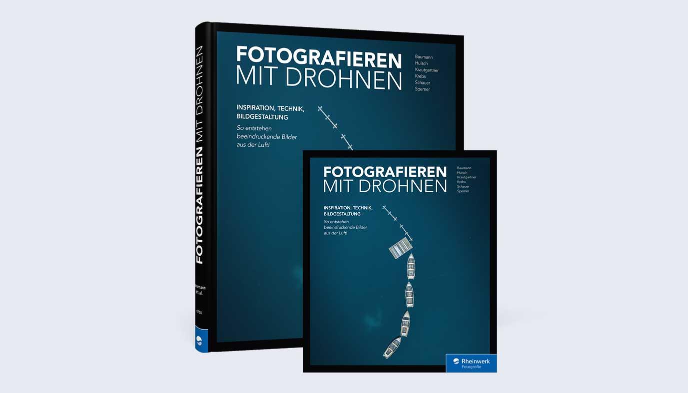 Buch Fotografieren mit Drohnen vom Reihnwerk Verlag