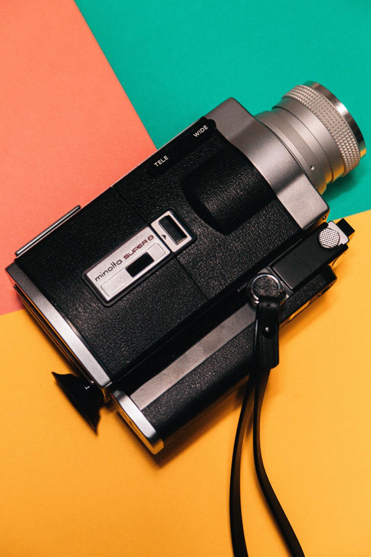 Super 8 Film-Kamera/ Film-Format