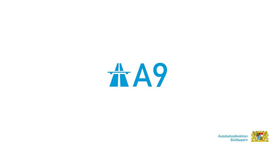 Bayrischer Verkehrsministerium Erklärfilm Filmproduktion auf der A9 Logo