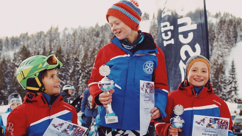 Schöffel Kids Cup Action Eventvideo Filmproduktion in Österreich Siegeehrung