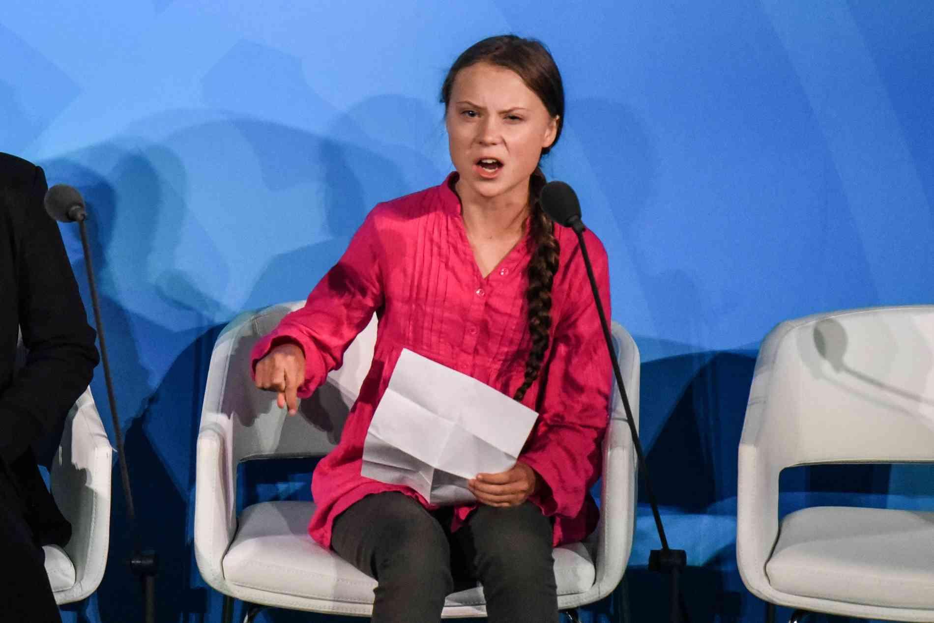 Greta Thunberg UN-Umweltkongress