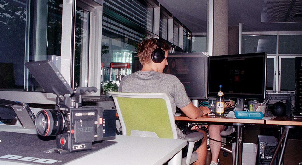 Als Werkstudent bei URBAN & UNCUT Studios Postproduktion