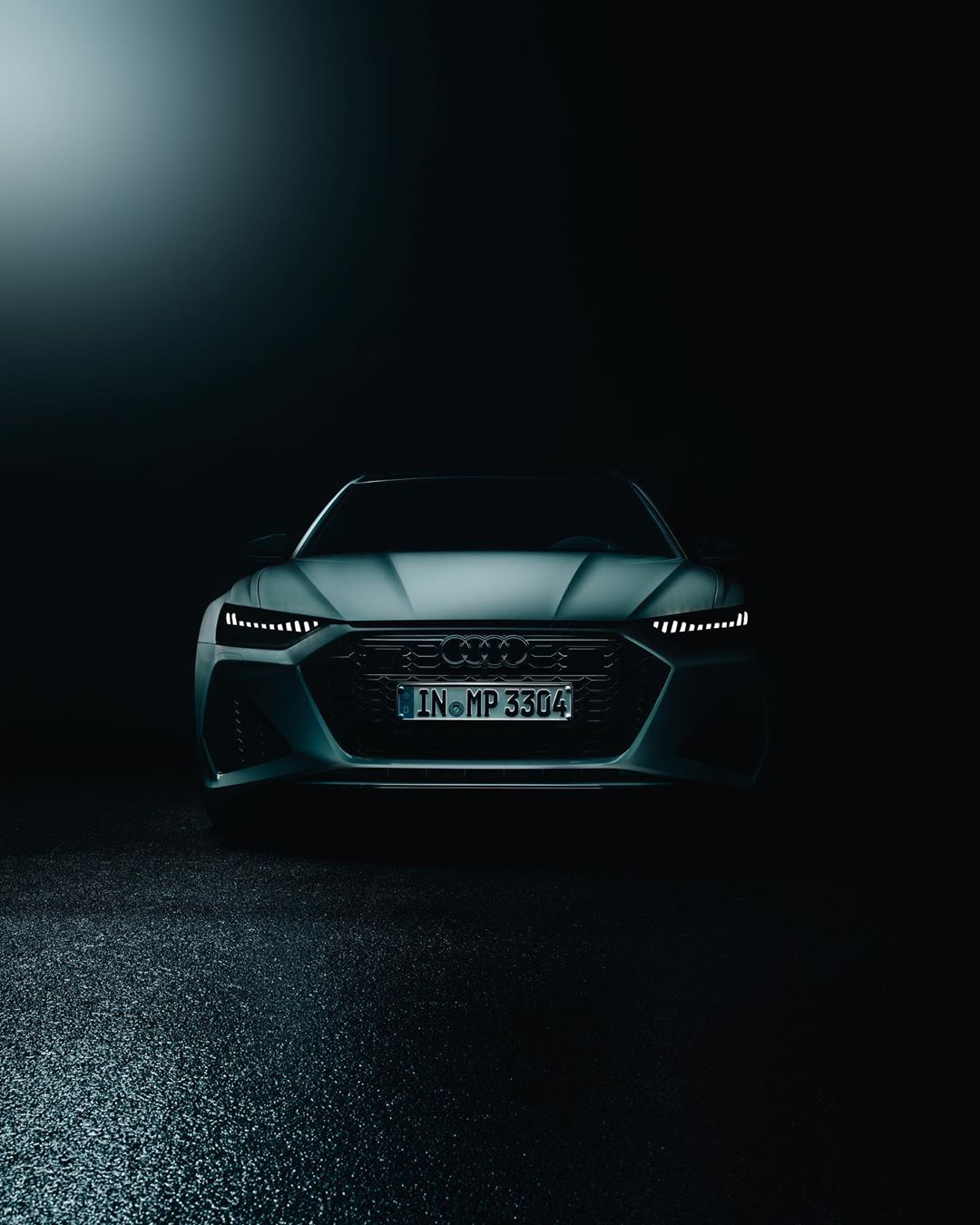 Audi RS6 Social Media Kampagne in Leipzig Flugplatz