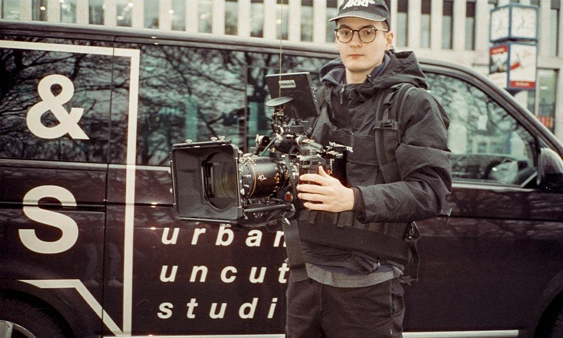 Wirecard Werbefilm Filmproduktion in Berlin Linus Kirschner mit RED Gemini und Atlas Anamorphic Lense