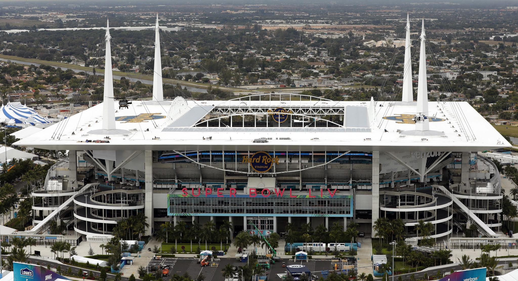 Hard Rock Stadium, Miami Gardens, FL, USA.