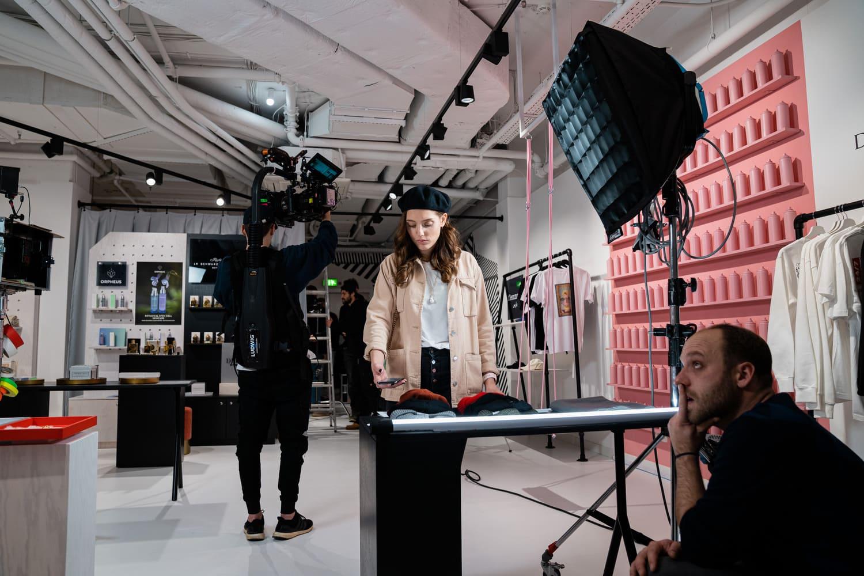 Filmproduktion Berlin Filmset Model Till Hennig Linus Kirschner Jürgen Christa