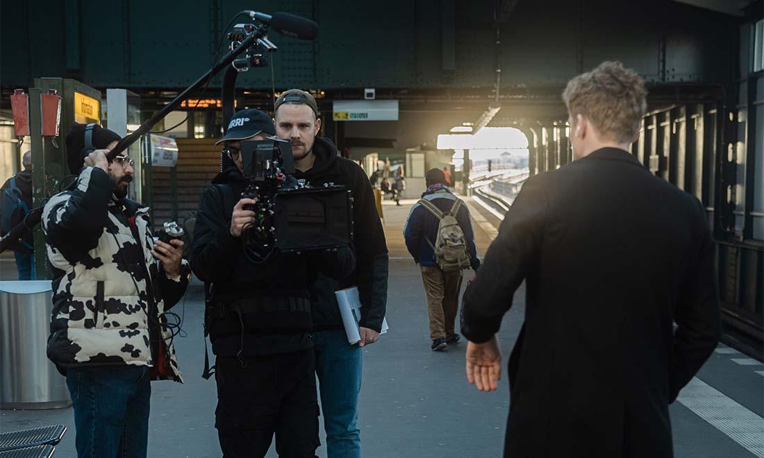 Berlin Gleisdreieck Filmproduktion Roman Halfen Linus Kirschner Jakob Nienhaus