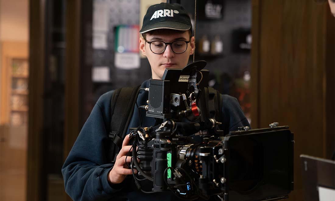 Linus Kirschner Wirecard Werbefilm Filmproduktion in Berlin RED Gemini mit Atlas Anamorphic Lense