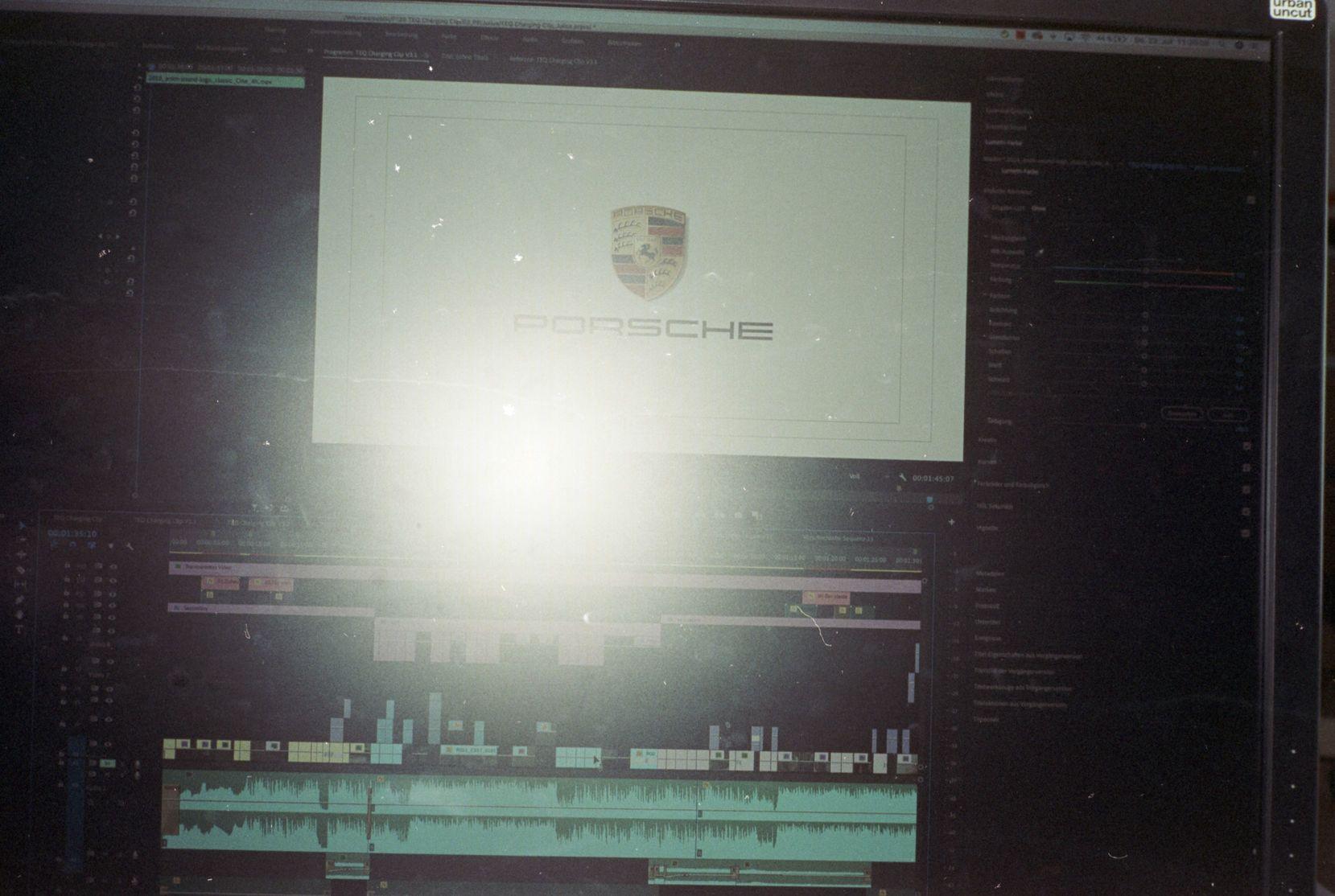 Porsche Werbefilm Filmproduktion in Stuttgart Postproduktion Julius Krebs