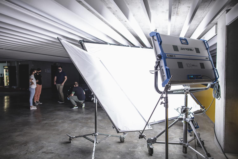 Porsche Werbefilm Filmproduktion in Stuttgart ARRI Skypanel 360c