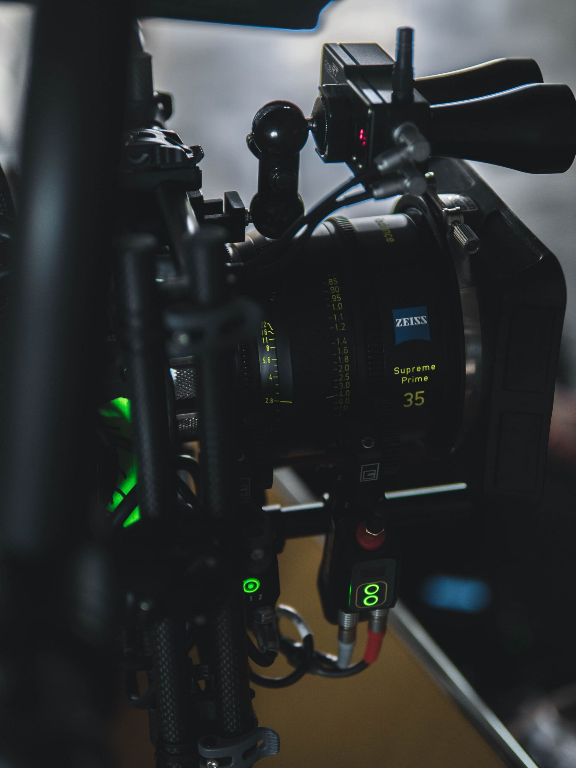 Porsche Werbefilm Filmproduktion in Stuttgart Zeiss Supreme Prime Radiance und Cinebug