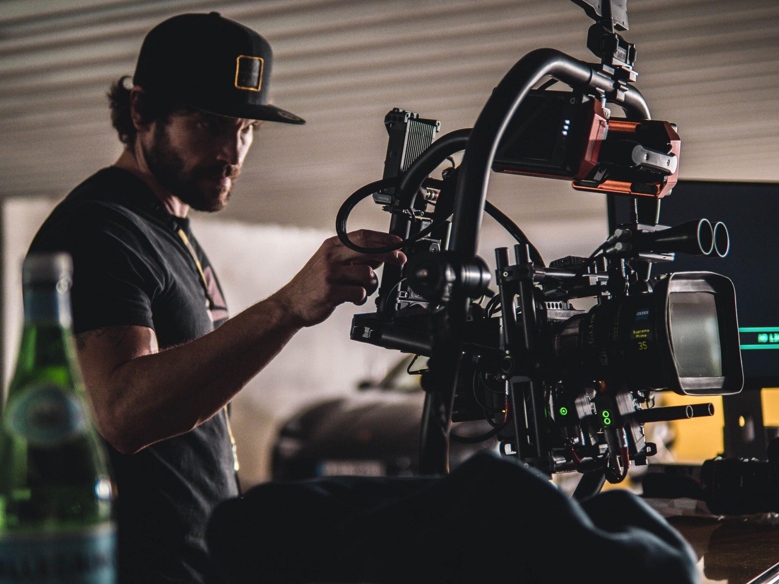 Porsche Werbefilm Filmproduktion in Stuttgart Jürgen Christa 1. AC Setup RED Gemini und Gimbal