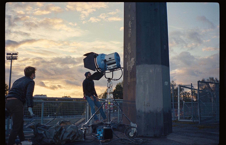 Born Guilty mit The Sweetspot Social Spot Filmproduktion Augsburg ARRI M90 Sonnenuntergang