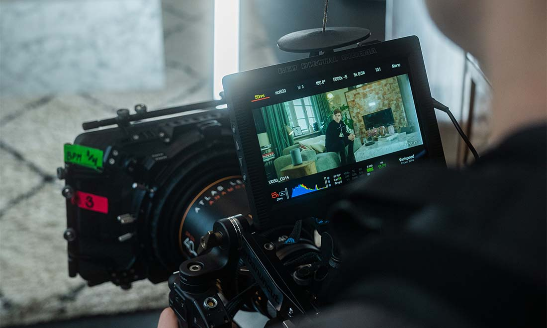 Wirecard Werbefilm Filmproduktion in Berlin RED Gemini mit Atlas Anamorphic Lense