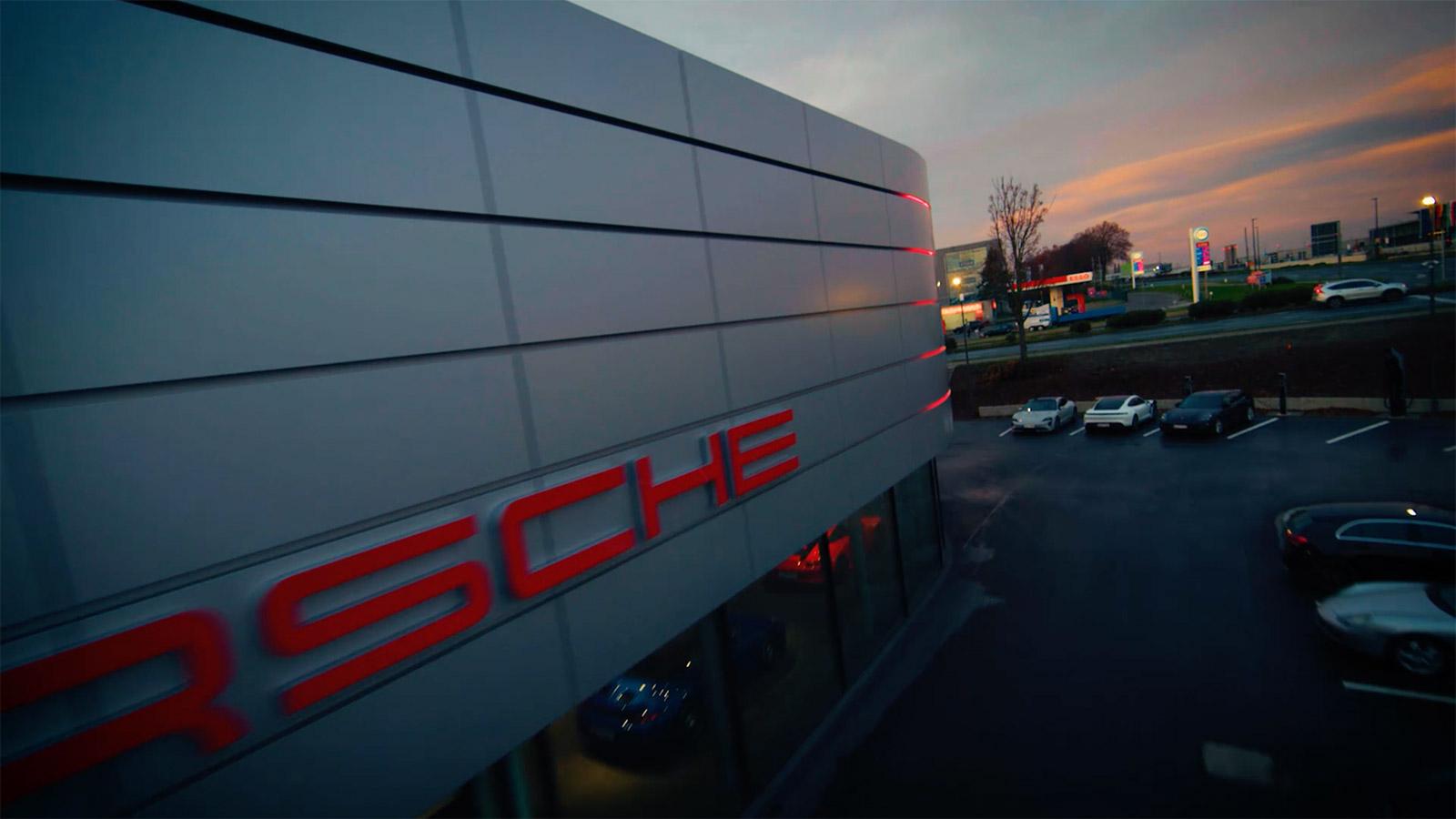 Filmproduktion Dortmund Branden Content Destination Porsche Zentrum