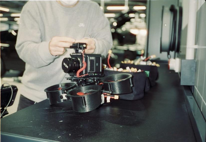 Filmproduktion Dortmund Branden Content Destination Porsche Zentrum FPV Drohne RED Komodo