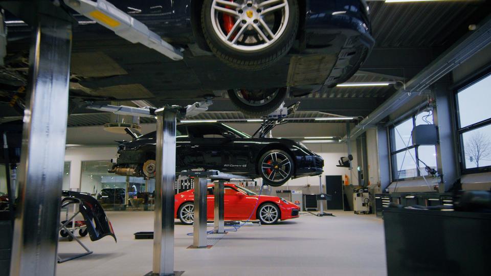 Filmproduktion Dortmund Branden Content Destination Porsche Zentrum Werkstatt