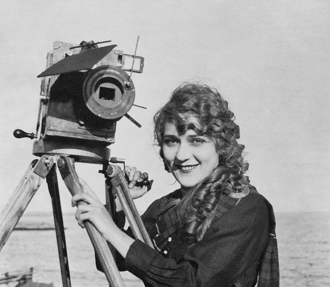 mary pickford film kamera frauen filmgeschichte